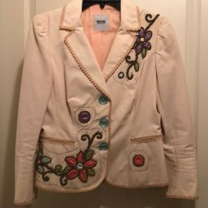 Moschino Cheap n Chic jacket with embellishments